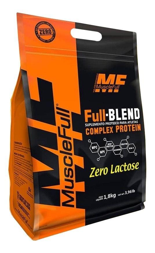 Full-Blend Zero Lactose 1,8kg - Muscle Full