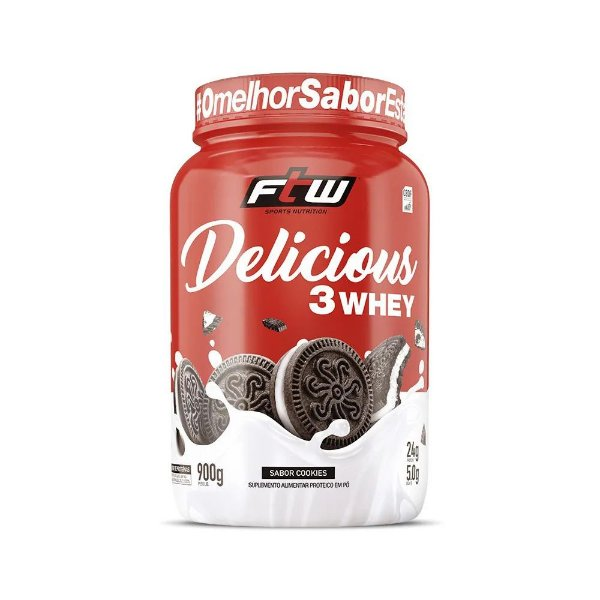 Delicious 3 Whey 900g - FTW Sports Nutrition