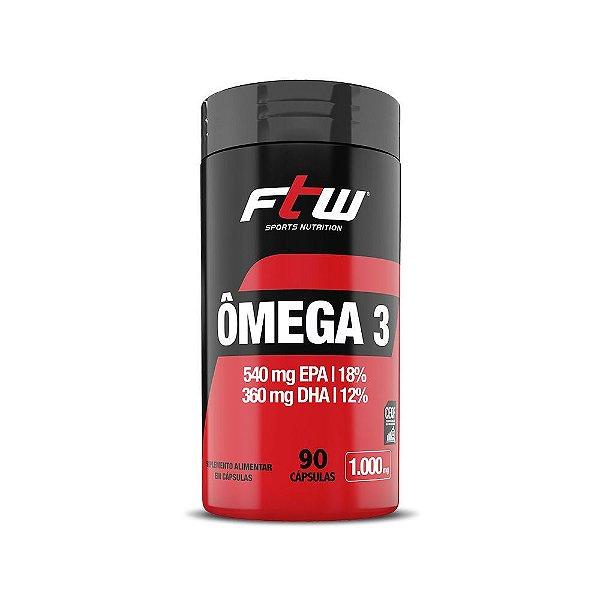 Ômega 3 90 Cápsulas - FTW Sports Nutrition