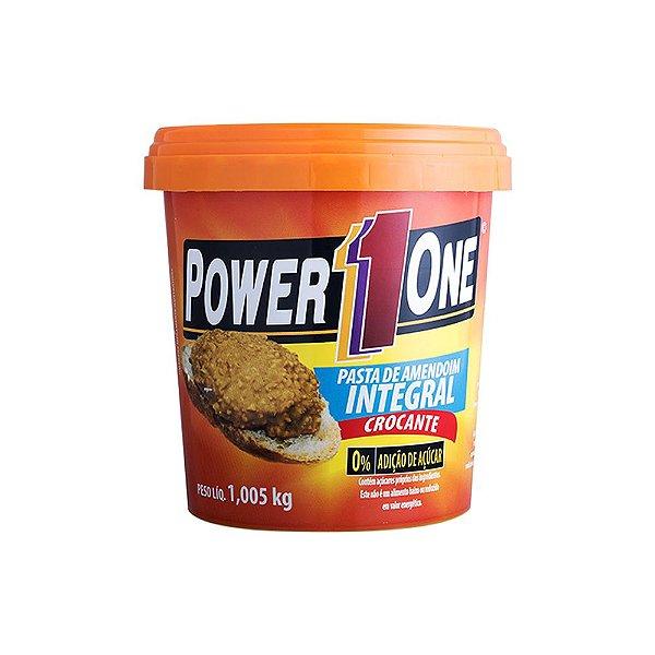 Pasta de Amedoim 1Kg Crocante - Power One