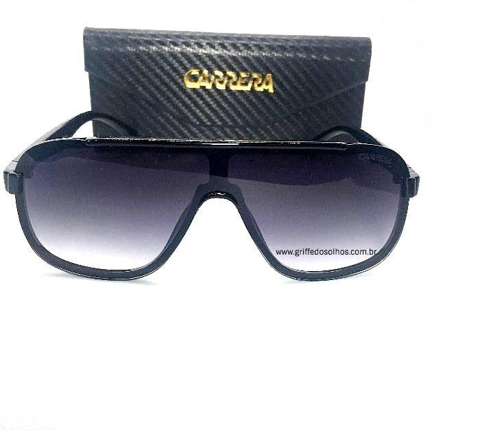 Oculos de Sol Carrera Masculino - Acetato Preto