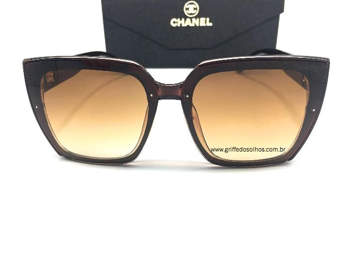 Óculos de Sol Chanel / Classico Marrom