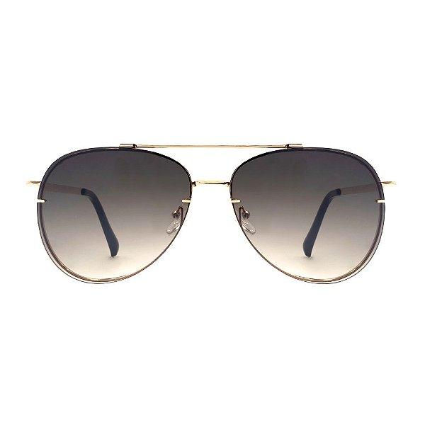 Aviador Oculos de Sol - Lente Degrade Luxury