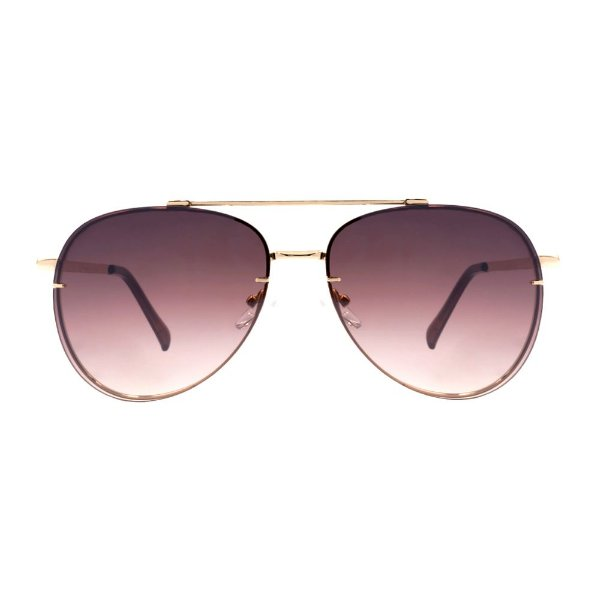 Aviador Oculos de Sol  Luxury- Lente Rose Degrade Luxury