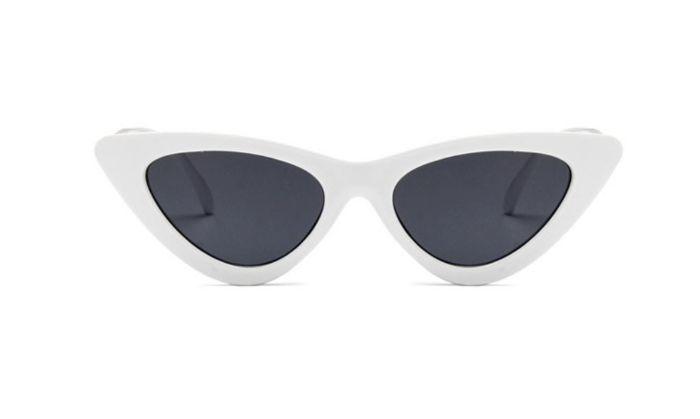 Oculos de Sol Retrô Vintage Branco