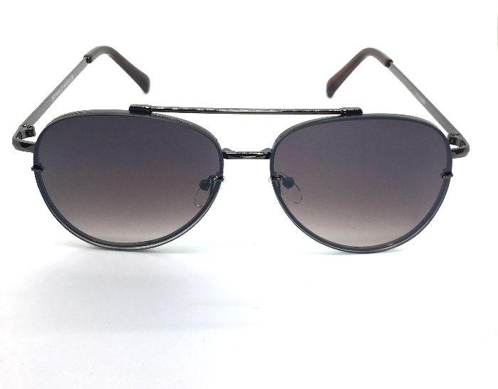 Aviador Oculos de Sol - Metal Lente Degrade Luxury