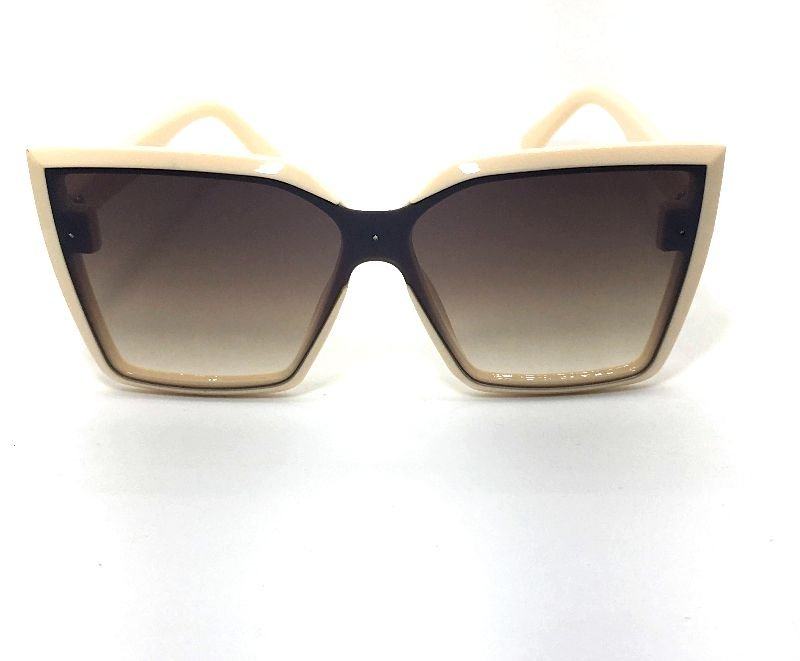 Óculos de Sol Gatinho Kely - Armação Bege