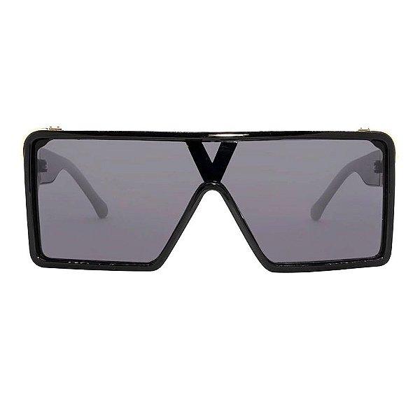 Óculos Harmon Quadrado Preto