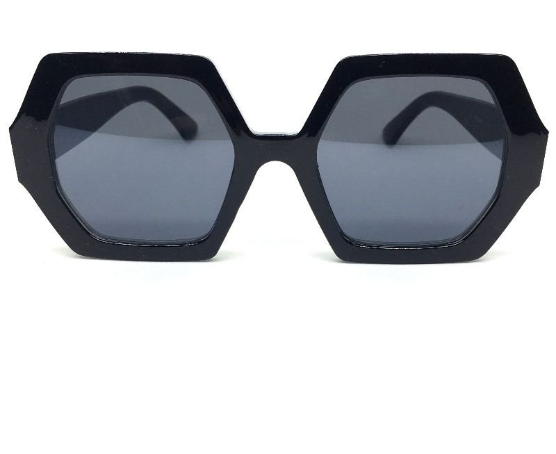 Óculos de Sol Anya - Octagonal Preto