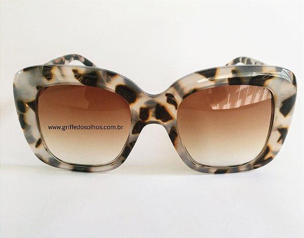 Óculos de Sol Céline Stella Animal Print CL41433/S - Havana Tartaruga
