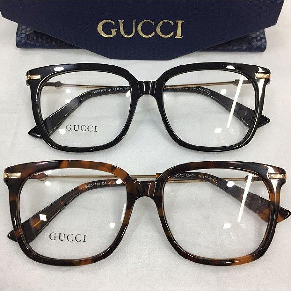 9b4a8d3b59d Óculos de Sol Feminino Acessórios Aqui - Renner  d9e0004c126  Armação de Óculos de Grau - Gucci - Griffe dos Olhos Replicas .. ... 56f0f10796