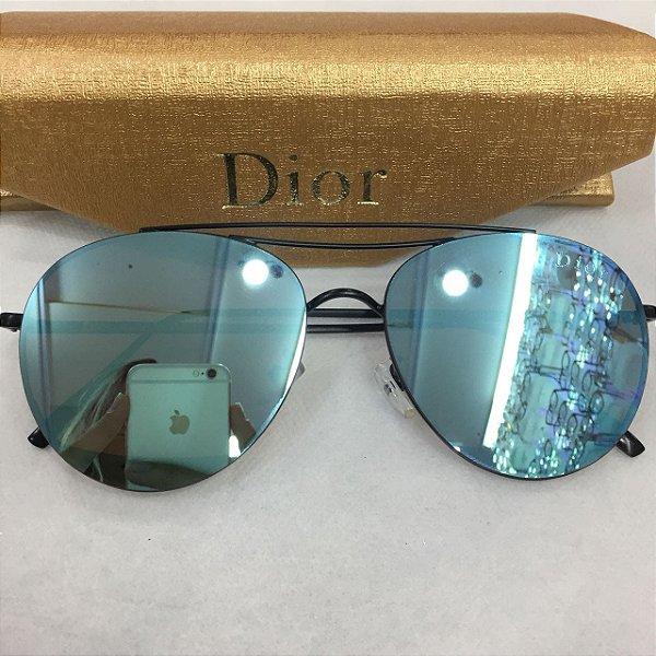 Óculos de Sol Aviador Espelhada - Dior - Griffe dos Olhos   Replicas ... c3615b16f6