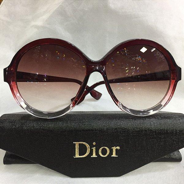 17d9b6fc8bd01 Óculos de Sol Redondo - Dior Bianca 0T5 I7 - Griffe dos Olhos ...