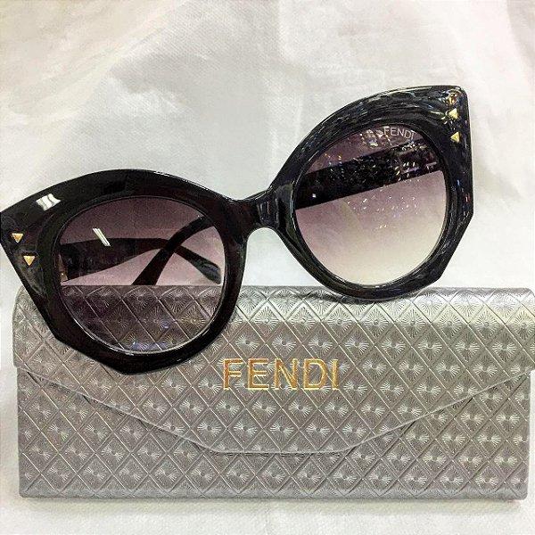 Fendi FF 0265 Peekaboo Preto - Óculos de Sol - Griffe dos Olhos ... 538417bb53