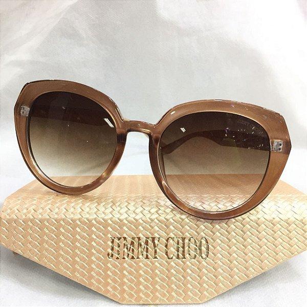 61acae1eabfe7 Óculos Jimmy Choo Anos 70 Redondo - Griffe dos Olhos   Replicas ...