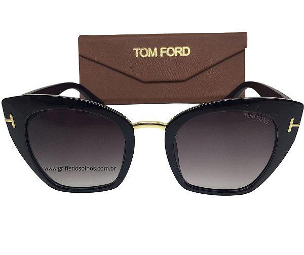 Tom Ford Samantha Preto - FT 0553/S 01W Óculos de Sol