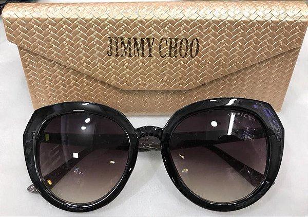 ... e77e8d71393 Óculos Jimmy Choo Redondo Preto - Griffe dos Olhos Replicas  Óculos . 22f2e91804