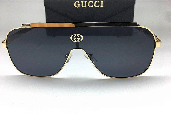 Óculos de Sol GG Gucci Máscara - Lente Preta