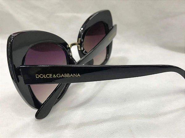 ce469692a61eb Dolce   Gabbana PRETO - DG 4319 501 8G - Óculos de Sol - Tamanho 51 ...