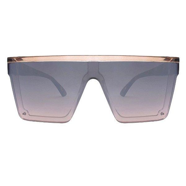 Óculos de Sol  Furious Quadrado Espelhado/ Animal Print