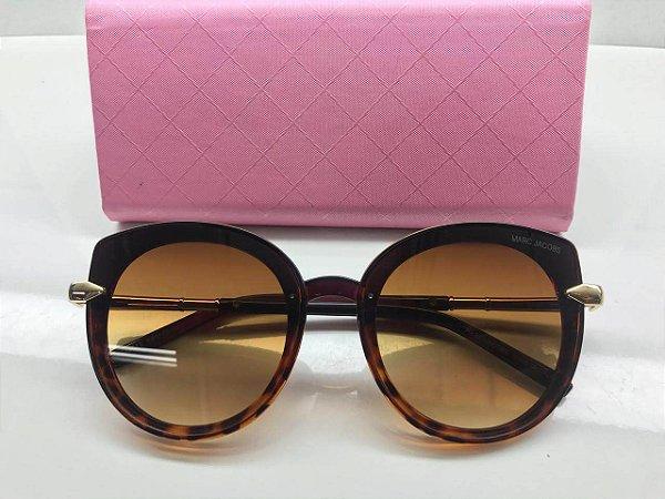 Óculos Marc Jacobs Oval Exclusivo / Lente Marrom