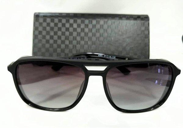 180ca3758ca9b Óculos de Sol Police Drive 1 (SPL-720 06AA) Preto fosco - Cinza ...