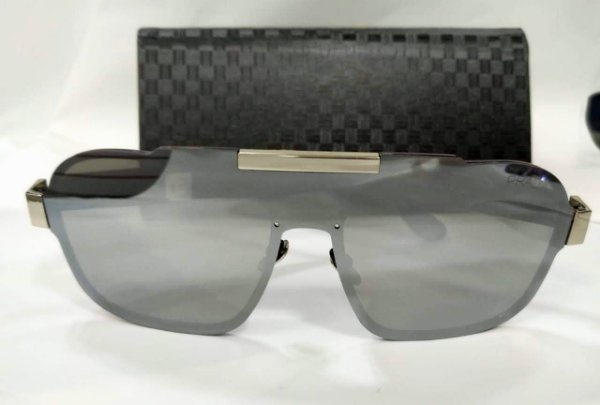 ad74bdae1 Óculos Masculino Prada PR01US - Prata Espelhado - Griffe dos Olhos ...