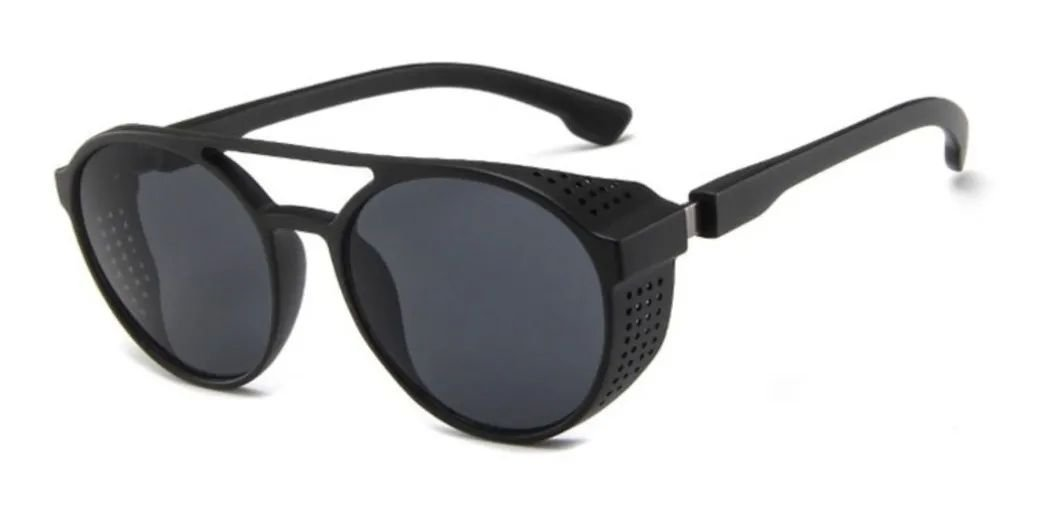 Óculos de sol Redondo Inspired -Preto
