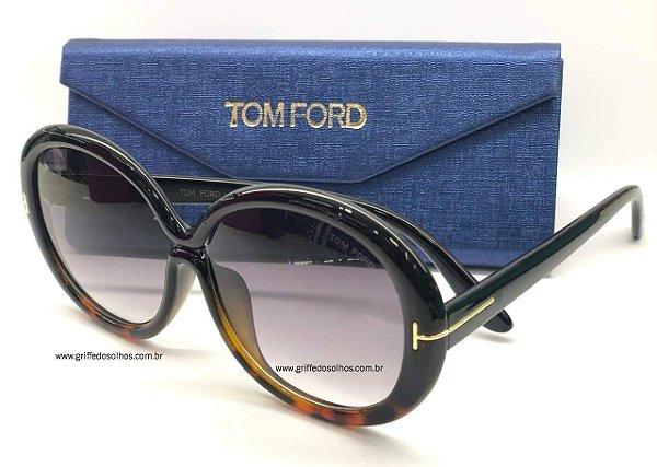 Óculos de Sol Tom Ford Redondo  FT038801 GISELLA