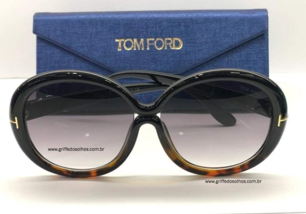 Óculos de Sol Tom Ford Redondo  FT038801 GISELLA