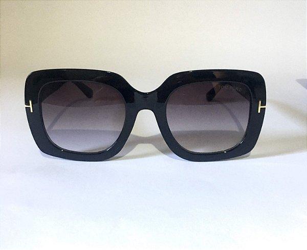 Óculos Feminino Tom Ford  Helene 580 Quadrado Preto