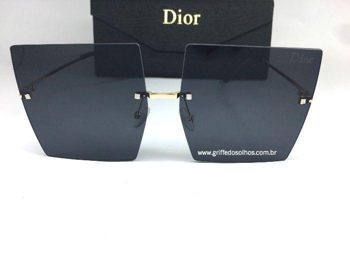 Oculos de Sol Dior Square sem Aro/ Preto