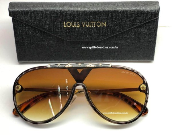 Louis Vuitton LV  Máscara Aviador - Óculos de Sol