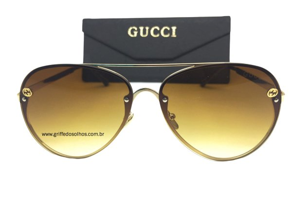 Óculos Aviador  Gucci Modelos Lançamentos