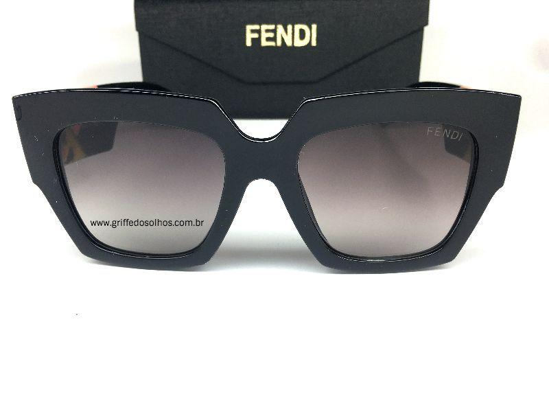 Fendi - FF 0263/S -Facets   Quadrado - Óculos de Sol