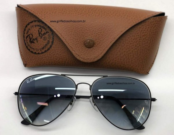 Ray-Ban - Aviador Unissex Cinza RB3025 029/30 58  - Óculos de Sol
