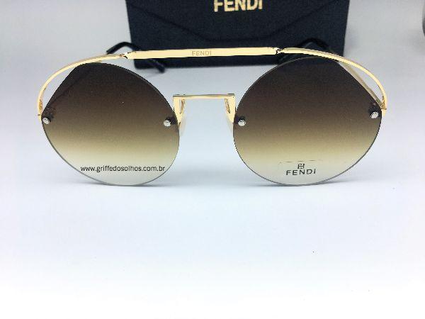 Fendi Ribbons Crystals 0325 09QHA - Oculos de Sol