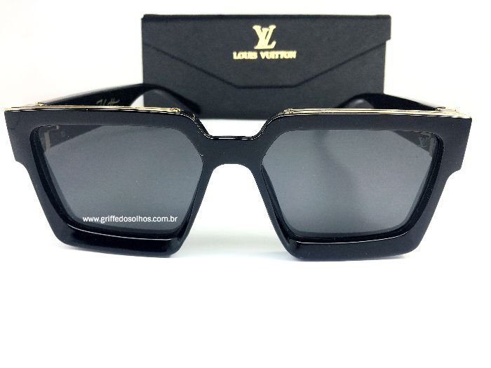Óculos de Sol Louis Vuitton Millionaires 96006 - Preto