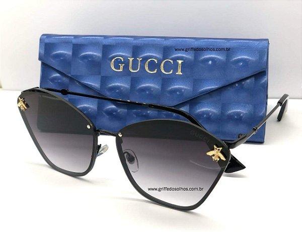 Oculos Gucci Gatinho Abelha - Bee
