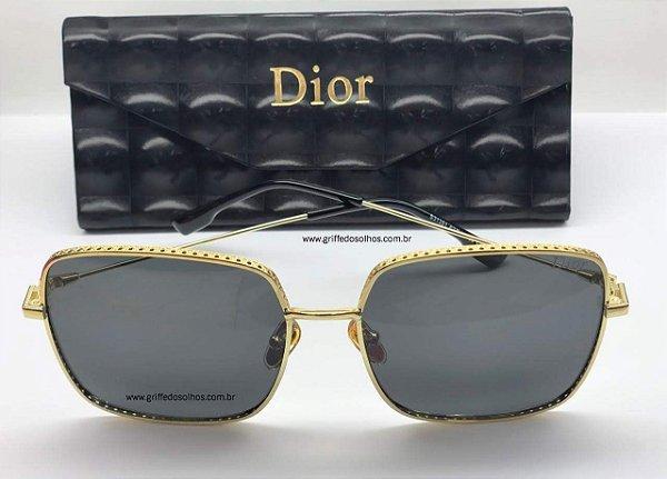 Óculos - de Sol Dior by Dior 3F J5GA9 Cinza - Christian Dior / Armação Leve