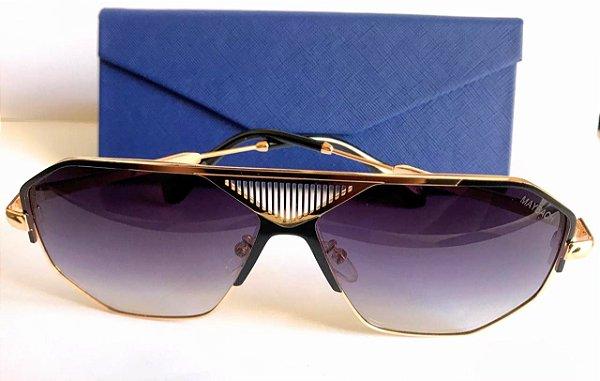 Oculos de Sol Maybachl- Armação Dourada
