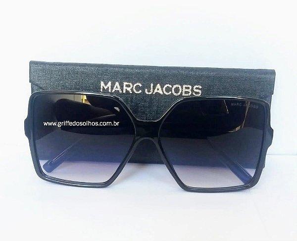 Óculos de sol Marc Jacobs  Oversized  Preto Quadrado