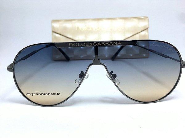Óculos de Sol Dolce & Gabbana Aviador / Lente Gradiente