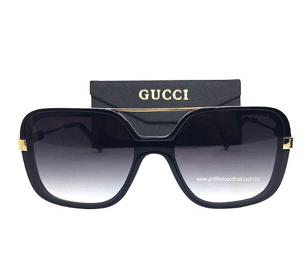 Oculos de Sol Gucci Europeu - Armação Quadrado