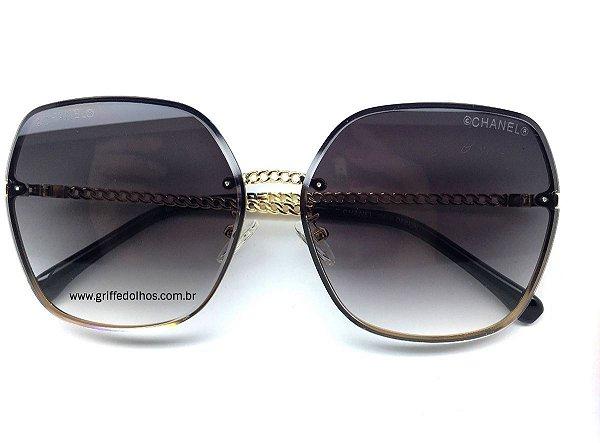 Óculos Chanel Armação  de Corrente