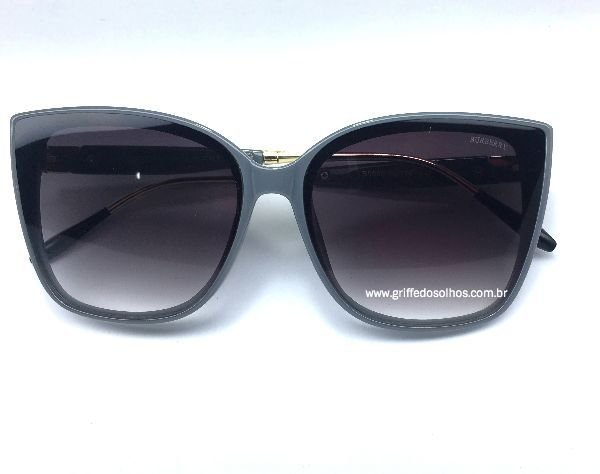 Oculos de Sol Burberry Gatinho - Armação Armação Cinza