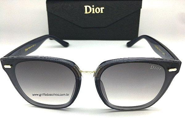 Óculos Wayfarer Dior  - Óculos de Sol Armação Cinza