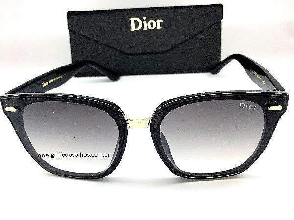 Óculos Wayfarer Dior  - Óculos de Sol Armação Preto