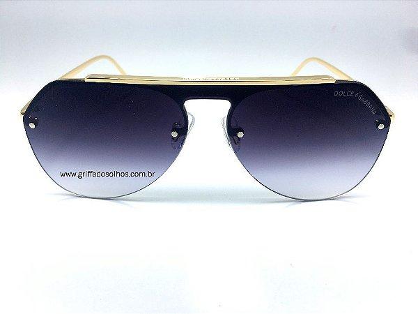 Oculos de Sol Dolce & Gabbana DG-2213 - Armação Dourada