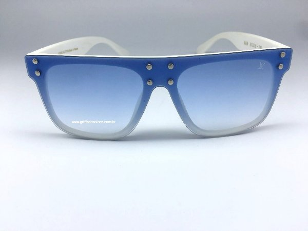 Louis Vuitton Mascara Quadrado - Oculos de Sol Azul
